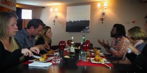 Un dîner à Chambéry