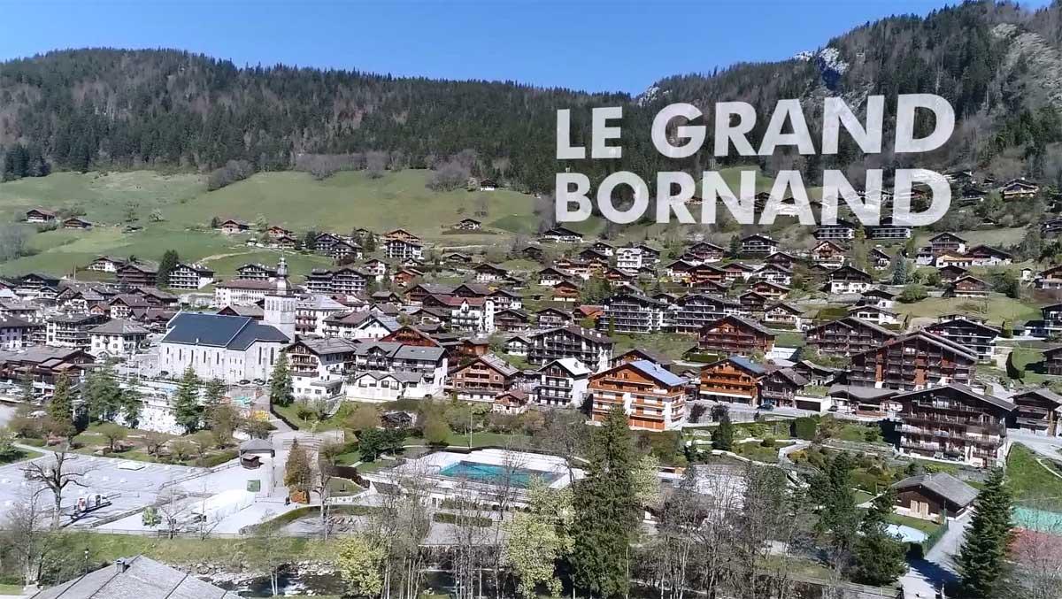 Vue d ici le grand bornand 8 mont blanc - Chambres d hotes le grand bornand ...